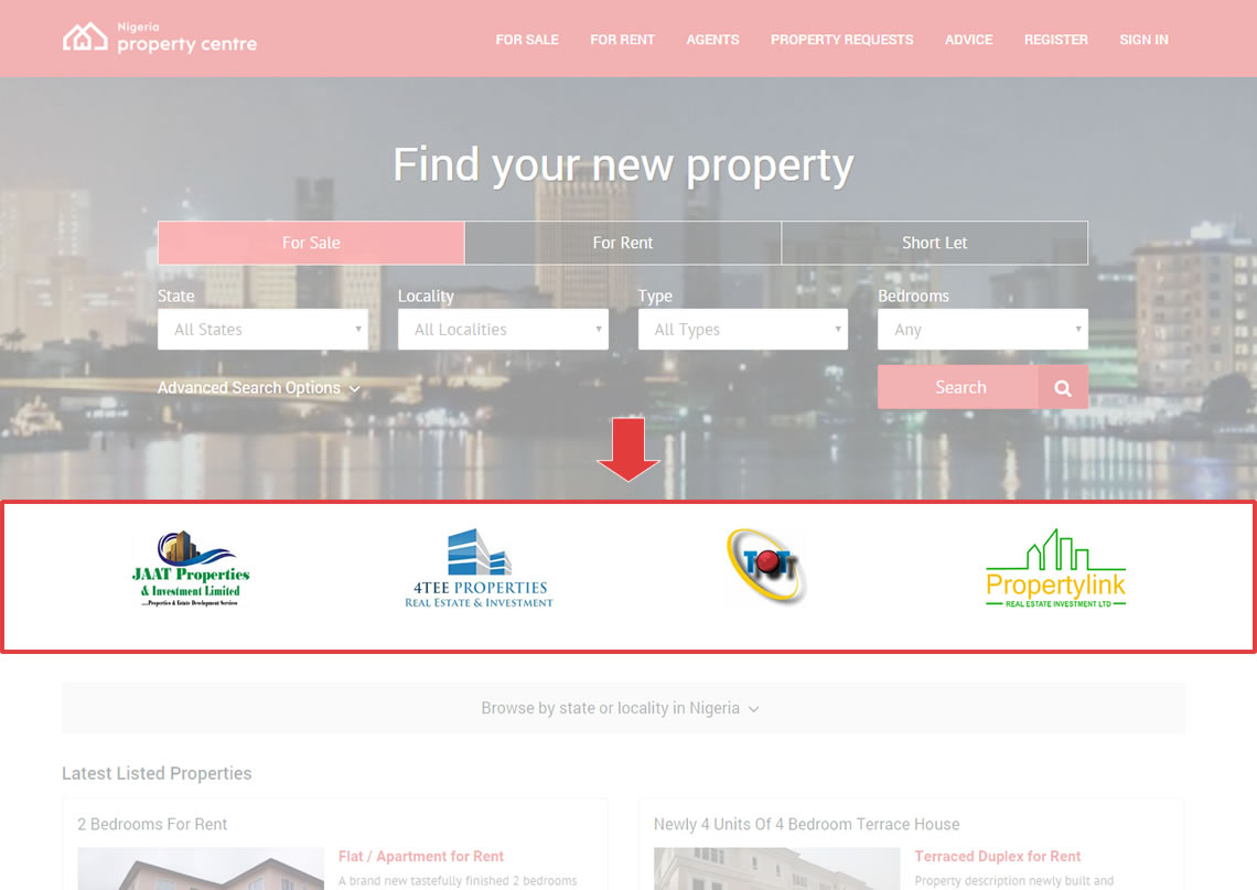 Featured Real Estate Company Adverts - Nigeria Property