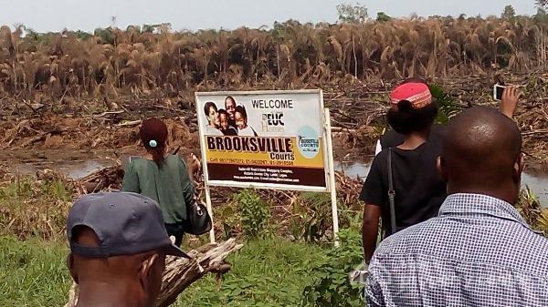PLOTS OF LAND FOR SALE @ BROOKSVILLE COURTS, IBEJU LEKKI