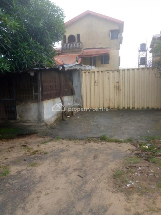 917 Sqm of Land with Gigantic 7 Bedrooms Structure, Before Abijo Bus Stop, Sangotedo, Ajah, Lagos, Detached Duplex for Sale