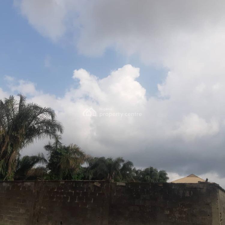 Fenced Residential Land in a Built Up Estate Close to Landmarks, Opposite Lufasi, Sangotedo, Ajah, Lagos, Residential Land for Sale