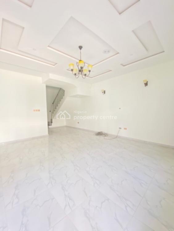 Brand New 4 Bedroom Semi Detached Duplex, By Chevron Toll, Lekki, Lagos, Semi-detached Duplex for Sale