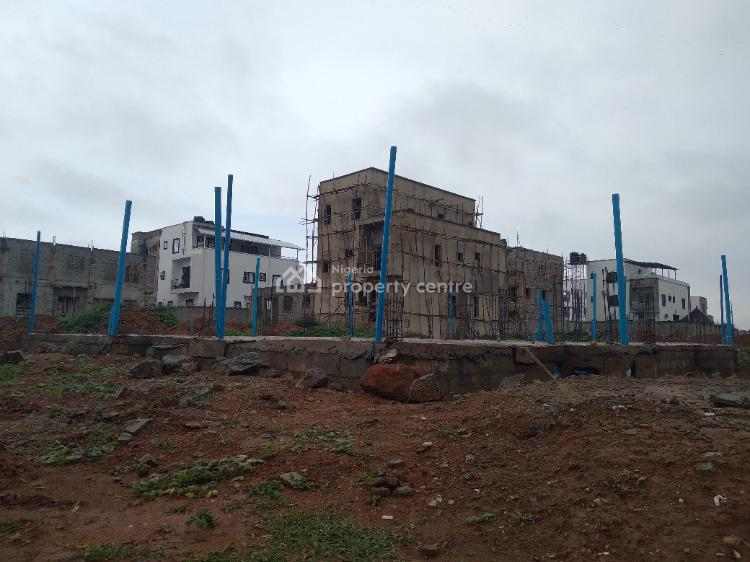 Two Units of 4 Bedroom Semi Detached Duplex  Plot with 1 Room Bq, Dpc, Idu Industrial, Abuja, Residential Land for Sale