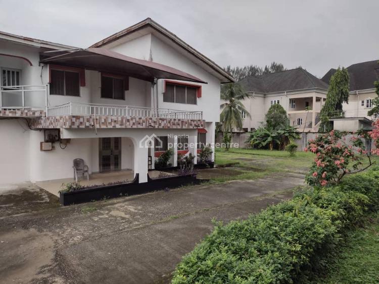 Large Plot of Land with a 5 Bedroom Duplex, Ewet Housing Estate, Uyo, Akwa Ibom, Terraced Duplex for Sale