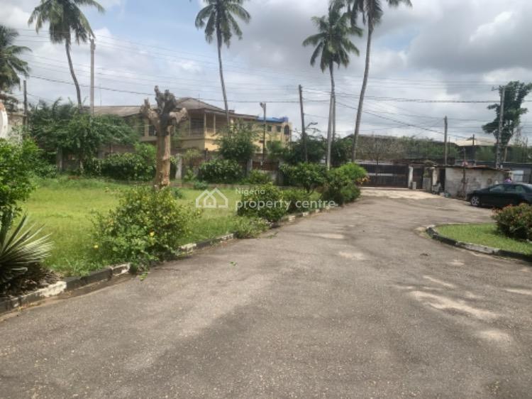 2600sqm Land Accommodating 5 Bedroom Bungalow, D'alberto Road, Palmgrove Estate Off Ikorodu Road, Palmgrove, Ilupeju, Lagos, Mixed-use Land for Sale