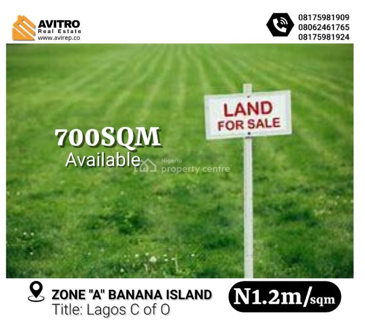700sqm Selling at Zone a Banana Island, Banana Island, Ikoyi, Lagos, Mixed-use Land for Sale