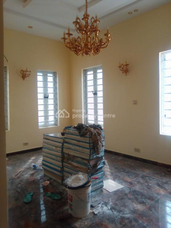 Newly Built 4 Bedroom Fully Detached with Bq, Spacious Compound, Ikota, Lekki, Lagos, Semi-detached Duplex for Sale