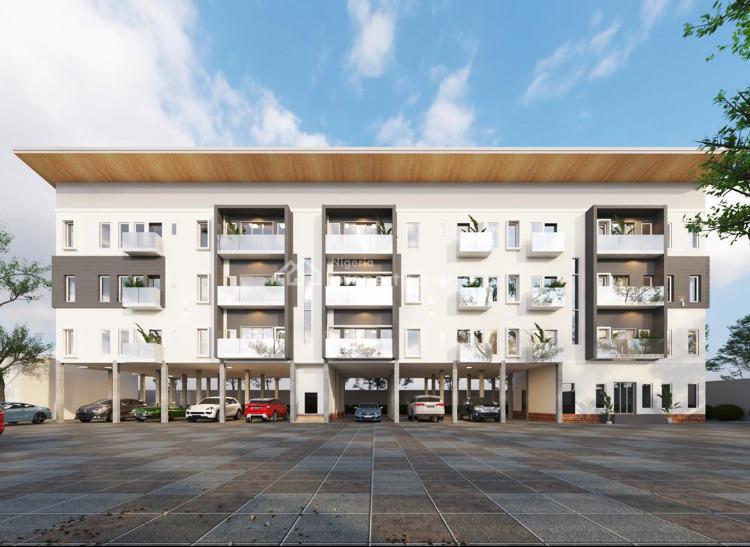 Beautiful 2 Bedroom Apartment in Mini Estate, World Oil Road,, Ilasan, Lekki, Lagos, Block of Flats for Sale