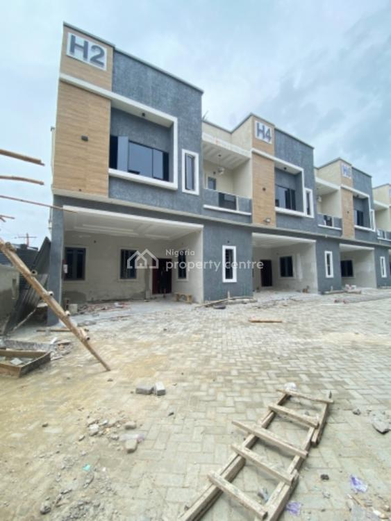 Exquisitely Finished Serviced 4 Bedroom Terrace Duplex  with 1 Bq, Orchid Road, Lekki Phase 2, Lekki, Lagos, Terraced Duplex for Sale