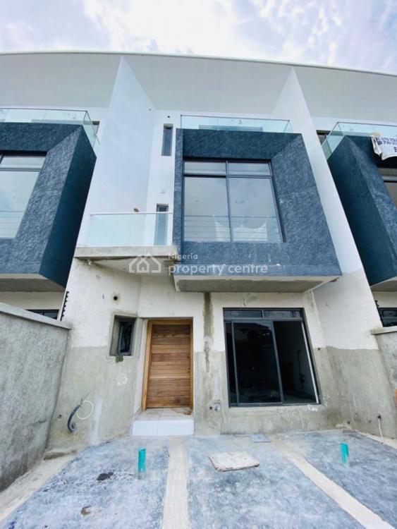 4 Bedroom Terrace Duplex with a Room Bq, Lekki, Lagos, Terraced Duplex for Rent