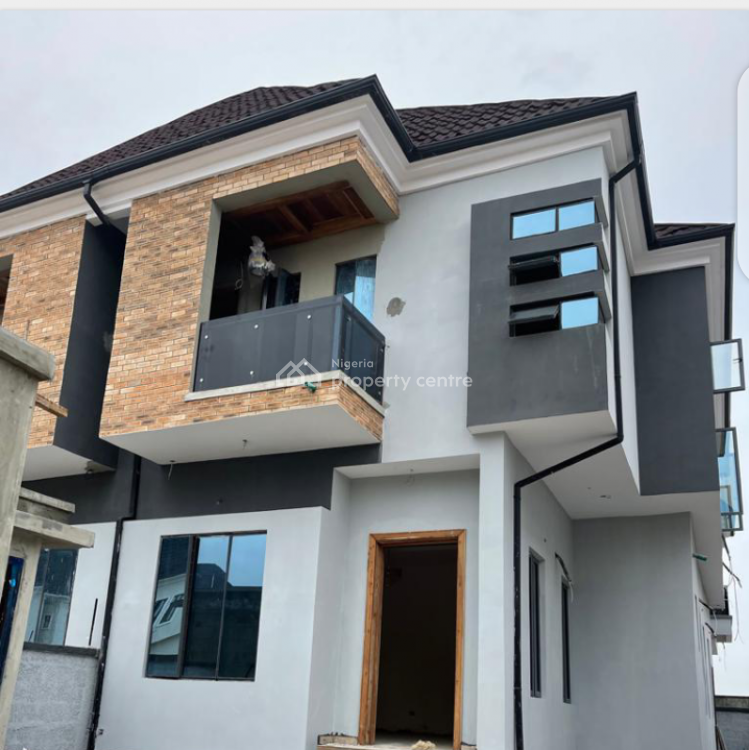 Spacious and Standard Luxury of 4 Bedrooms with Bq, Vgc Road, Vgc, Lekki, Lagos, Detached Duplex for Sale