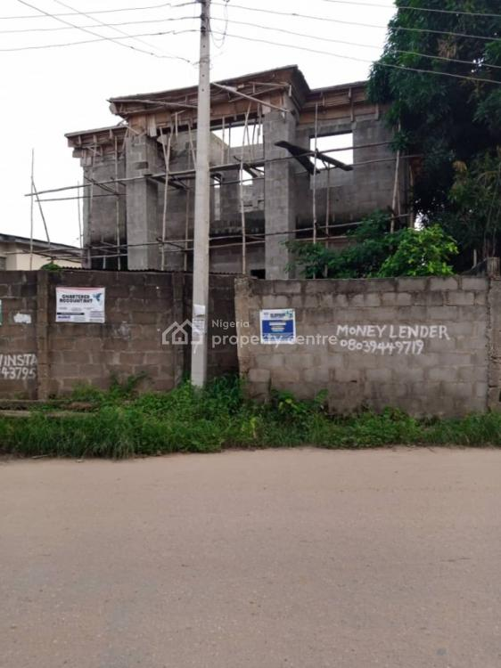 5 Bedroom Duplex Upto Roofing Level with C of O, Unity Estate, Egbeda, Alimosho, Lagos, Terraced Bungalow for Sale