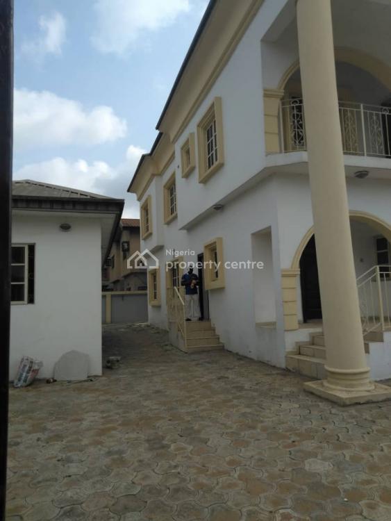 Executive 4 Bedroom Duplex with 2 Room Bq, Marple Wood Estate, Oko-oba, Agege, Lagos, Semi-detached Duplex for Rent