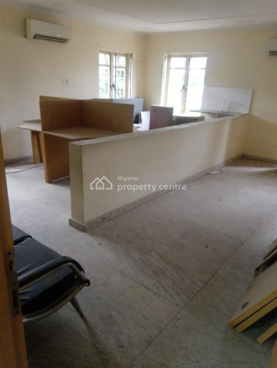 Massive and Furnished 2 Office Buildings with 2-room Bq, Off Awolowo Road, Falomo, Ikoyi, Lagos, Office Space for Rent