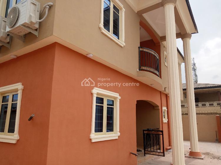 3 Bedroom Flat Newly Built Pop Finishing, Off, Ebute Igbogbo Road, Ebute, Ikorodu, Lagos, Flat / Apartment for Rent