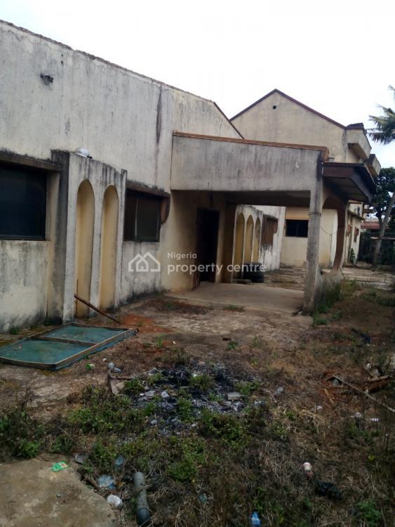 4 Bedroom Duplex with 4 Bedroom Bungalow, Akinwunmi Street, Ejigbo, Lagos, Detached Duplex for Sale