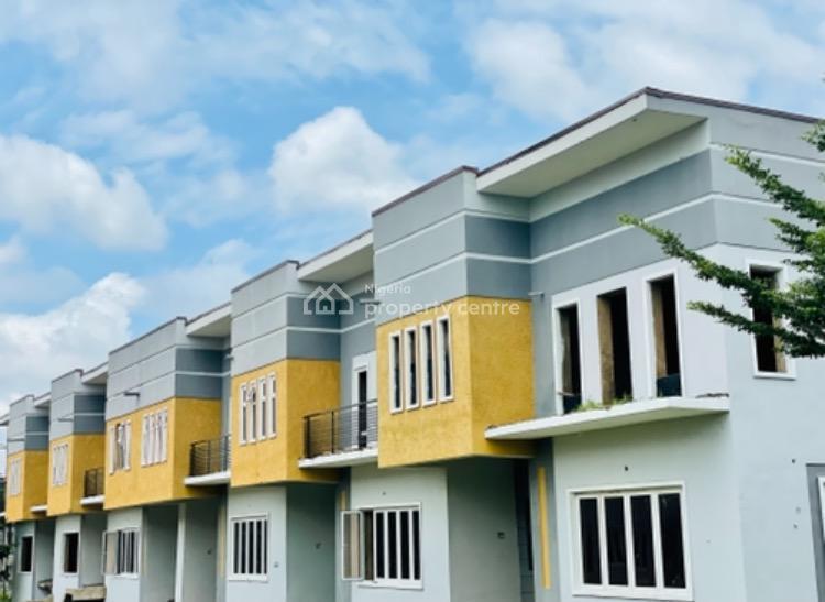 3 Bedrooms with 2 Living Rooms and 3 Car Parking Space., Brookshore Estate, Karsana South, Karsana, Abuja, Terraced Duplex for Sale