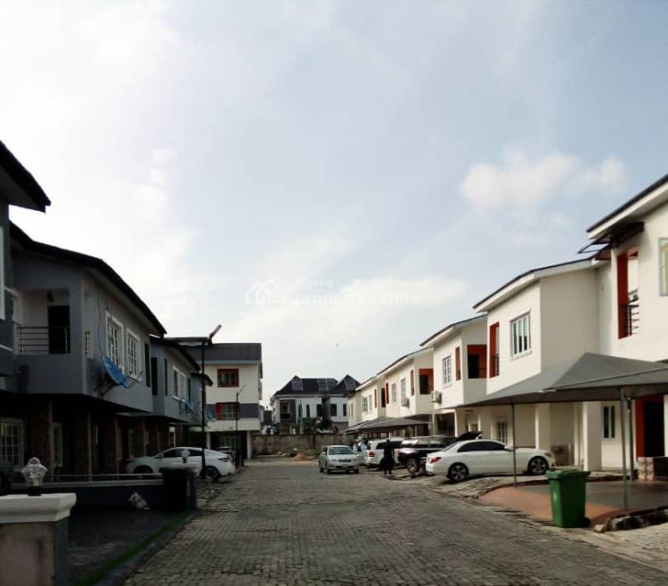Shell 4 Bedrooms Terraced Duplex - Middle Piece, Chevron Alternative, Lekki, Lagos, Terraced Duplex for Sale