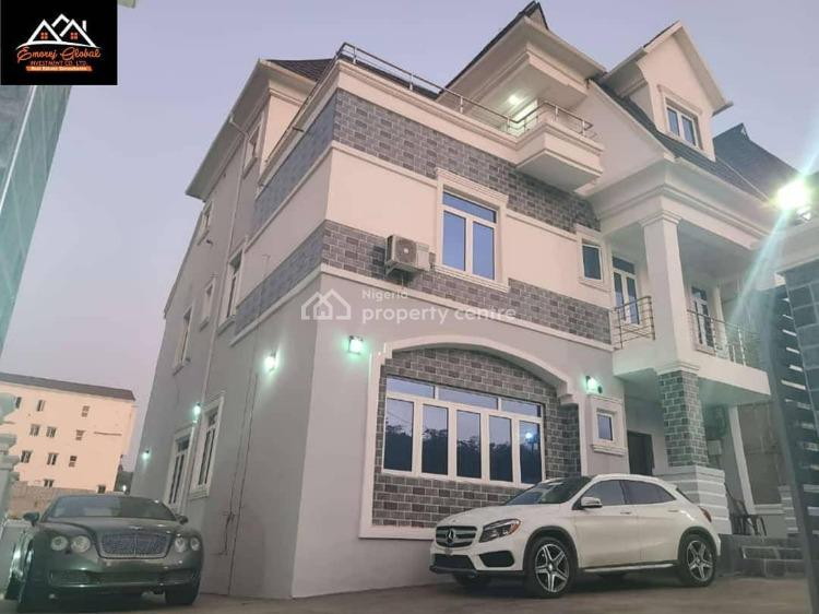 a Five Bedroom Duplex with Bq, Guzape, Guzape District, Abuja, Detached Duplex for Sale