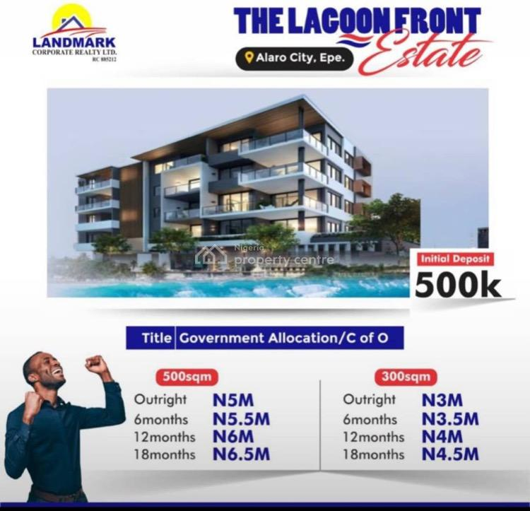 Experience Another Level of Class at Lagoon Front, Alaro City, Epe, Lagos, Residential Land for Sale
