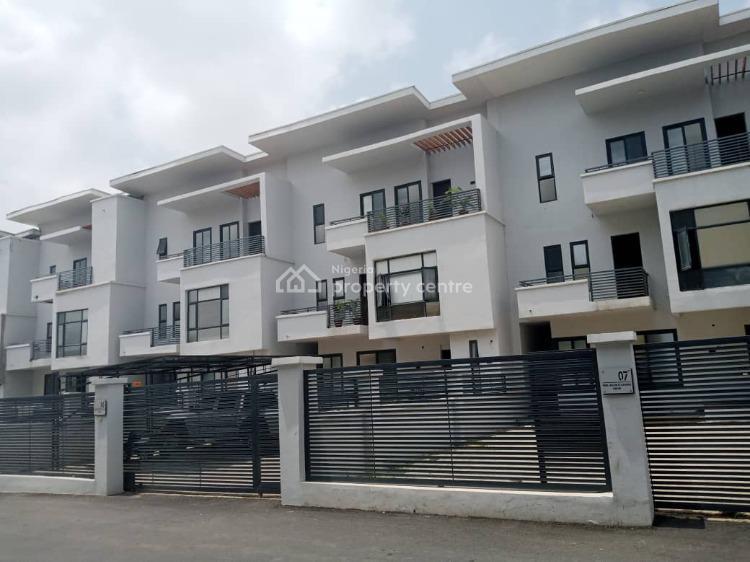 4 Bedroom Terrace with Bq, Guzape District, Abuja, Terraced Duplex for Sale