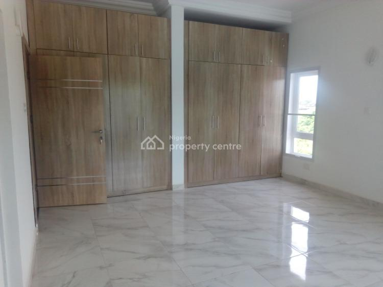 Service 3 Bedroom Flat with 1 Room Bq, Generator and Air Conditions, District, Jahi, Abuja, Flat / Apartment for Rent