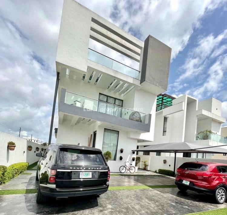 Beautiful 4 Bedroom Detached Duplex with Rooftop Terrace, Osapa, Lekki, Lagos, Detached Duplex for Sale