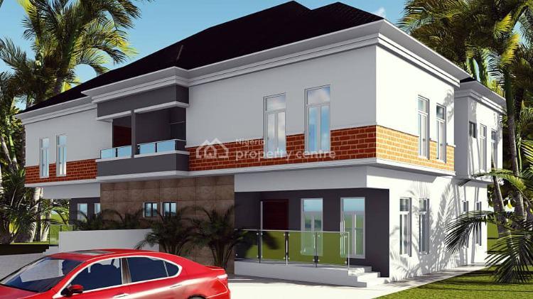 Off Plan 4 Bedroom Semi Detached Duplex with a Room Bq, Medina Estate, Gbagada, Lagos, Semi-detached Duplex for Sale