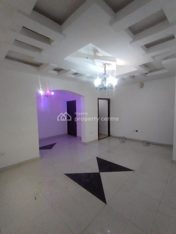 Fully Serviced 2 Bedroom Flat with 24hrs Light, Lnk Estate Along Owode Water Front Estate Addo., Ajah, Lagos, Flat / Apartment for Rent