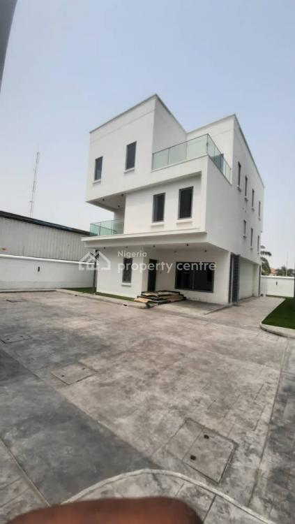 Newly Built 5 Bedroom Fully Detached House + Bq, Bourdillon, Ikoyi, Lagos, Detached Duplex for Sale