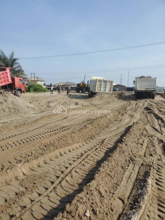 Commercial Plots of Land Facing The Road, Orofun, Freetrade Zone, Ibeju Lekki, Lagos, Commercial Land for Sale