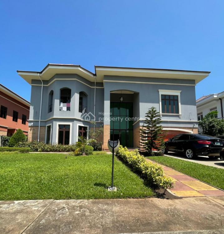 Lovely 7 Bedroom Fully Detached Mansion in a Lovely Estate, Nicon Town,, Nicon Town, Lekki, Lagos, Detached Duplex for Sale