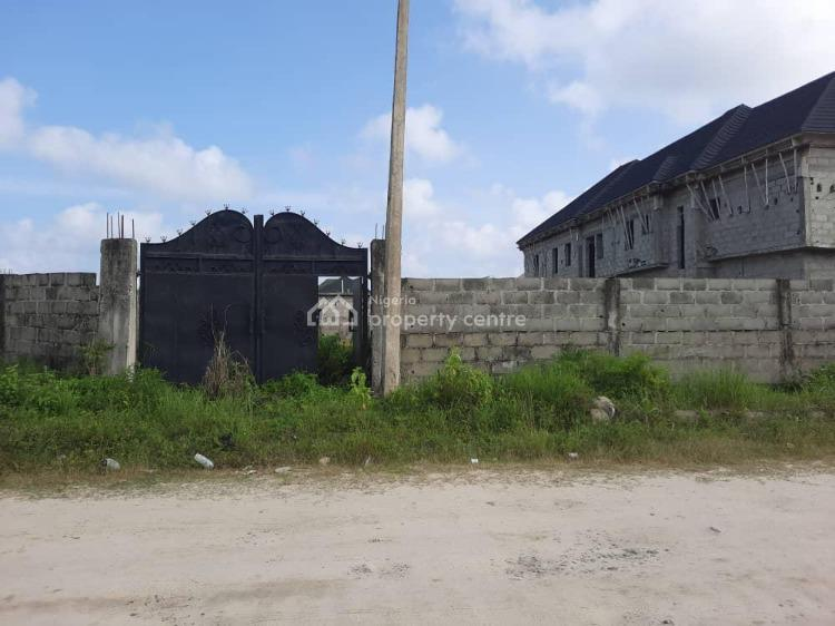775sqm Fenced & Gated Corner-piece Plot, Beside Chalcedony School, Abijo, Lekki, Lagos, Residential Land for Sale