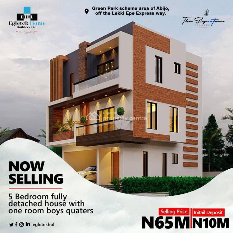 Get The Home You Deserve at The Signature, Sunday Ejifor Street, Abijo, Lekki, Lagos, Detached Duplex for Sale