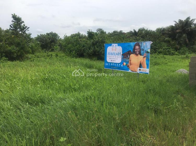 Cottage Land Is Situated in Reserved Area for The Class & Smart Ones., Havilla Cottage, Akodo Ise, Ibeju Lekki, Lagos, Residential Land for Sale