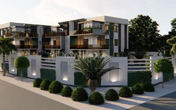 Luxury Smart 5 Bedrooms Duplex with Bq and Suspended Swimming Pool, Close to International Stadium, America International School, Durumi, Abuja, Semi-detached Duplex for Sale