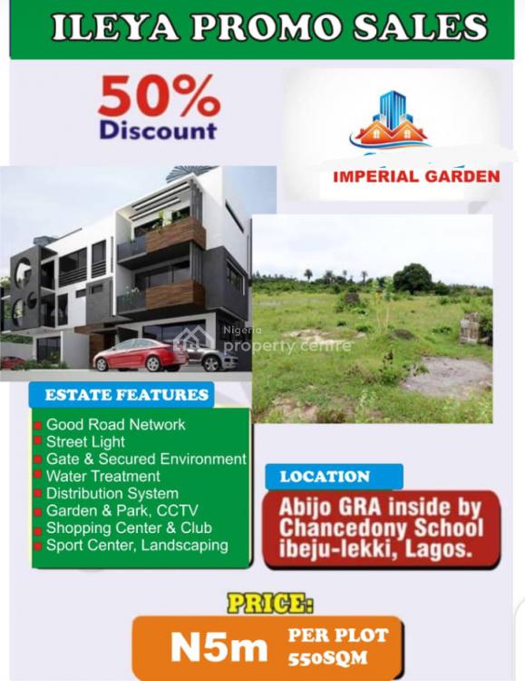 Land, Imperial  Garden, Gra, Abijo, Lekki, Lagos, Land for Sale