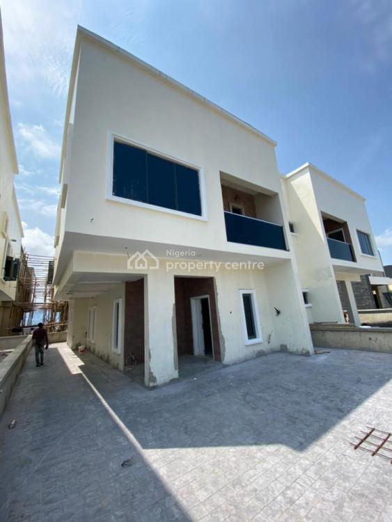 Fully Serviced 4 Bedrooms Semi Detached Duplex with Bq, By Orhid Hotel, Lekki, Lagos, Semi-detached Duplex for Sale