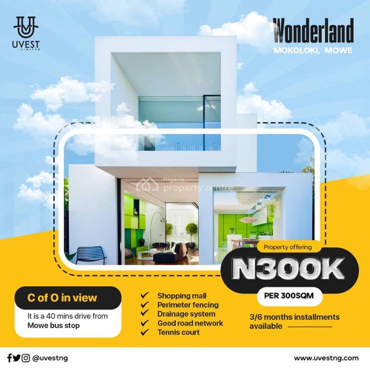 Affordable Land with Stratified Documents, Wonderland Estate , Mokoloki, Mowe Ofada, Ogun, Mixed-use Land for Sale