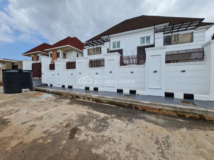 Classy Semi Detached 4 Bedroom Suited Duplexes with 2 Bedroom Bq Each, Chime Estate, Thinkers Corner, Off Old Airport Road, Enugu, Enugu, Semi-detached Duplex for Sale