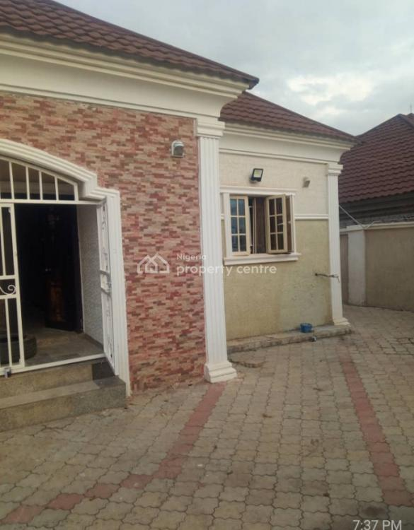 Correct 3 Bedrooms Fully Detached Bungalow with 2 Self-contained Bq, Gwarinpa, Abuja, Detached Bungalow for Rent
