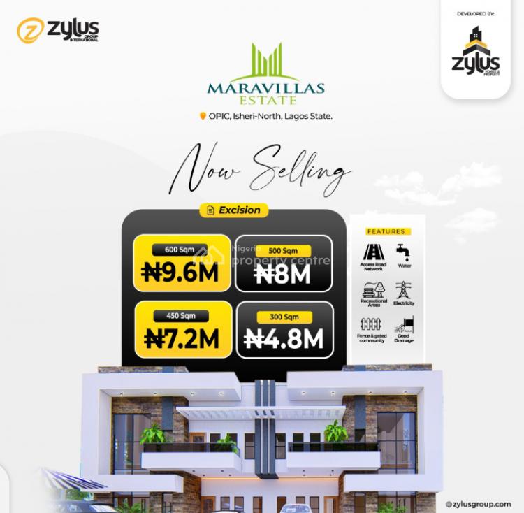Maravillas Estate, Gra Opic, Isheri North, Lagos, Residential Land for Sale