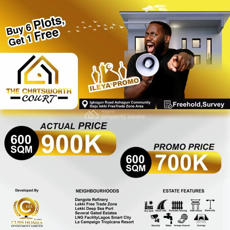 Most Affordable and Most Secure Land Offers for Investment Purpose, Ibeju Lekki, Lagos, Residential Land for Sale