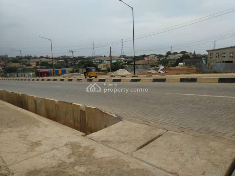 Landed Property By The Road Side, Omitoro Bus-stop, Elepe Road, Ikorodu, Lagos, Commercial Land for Sale