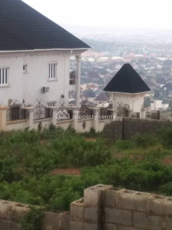 View The City From Your Your Comfort  Zone with a Refreshing Air, Apo Hills Estate, Apo, Abuja, Residential Land for Sale