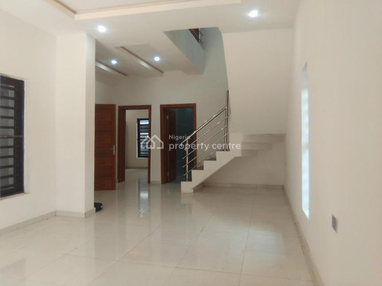 Newly Built 4 Bedroom Fully Detached Duplex with Bq, in a Well Secured Estate, Agungi, Lekki, Lagos, Terraced Duplex for Rent