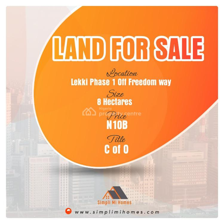 Certificate of Occupancy, Off Freedom Way, Lekki Phase 1, Lekki, Lagos, Mixed-use Land for Sale