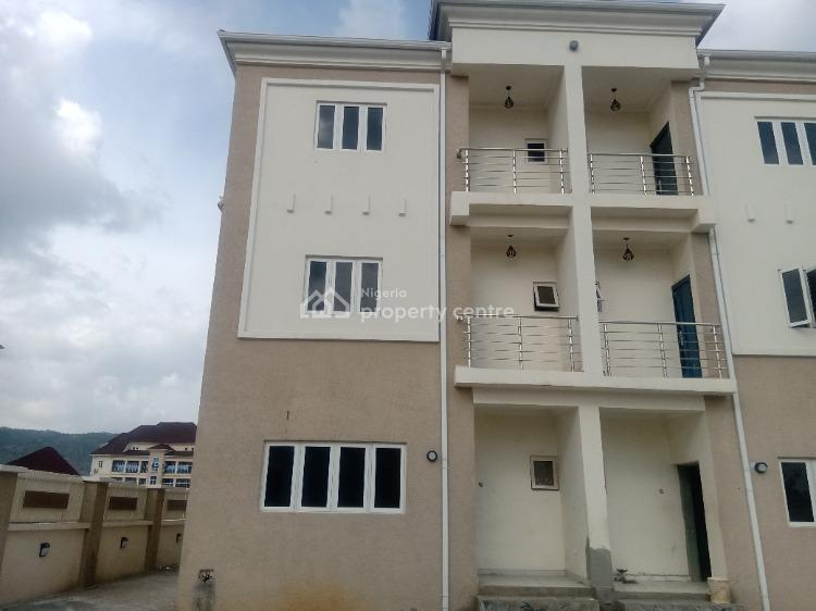 Brand New Luxurious Terraced Duplex with Bq, Gilmor Tarred Road, Jahi, Abuja, Terraced Duplex for Sale