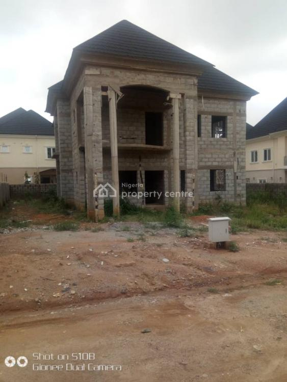 a 4 Bedroom Fully Detached Carcass Duplex, Citygate Homes 11, Opposite Suncity Estate By Vio Office., Kaura, Abuja, Detached Duplex for Sale