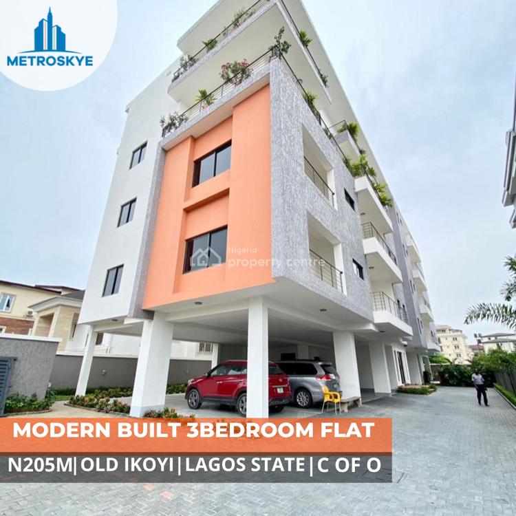 Luxury 3 Bedrooms Apartment, Ikoyi, Lagos, Flat / Apartment for Sale