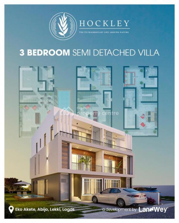 Luxury 3 Bedroom Duplex, Hockley Estate, Eko Akete, Abijo, Lekki, Lagos, Detached Duplex for Sale